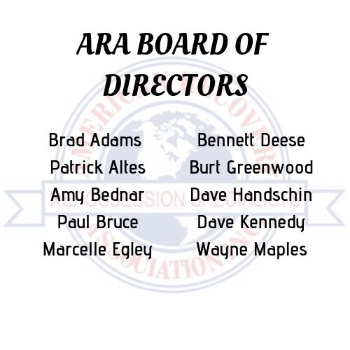ARA BOARD OF DIRECTORS